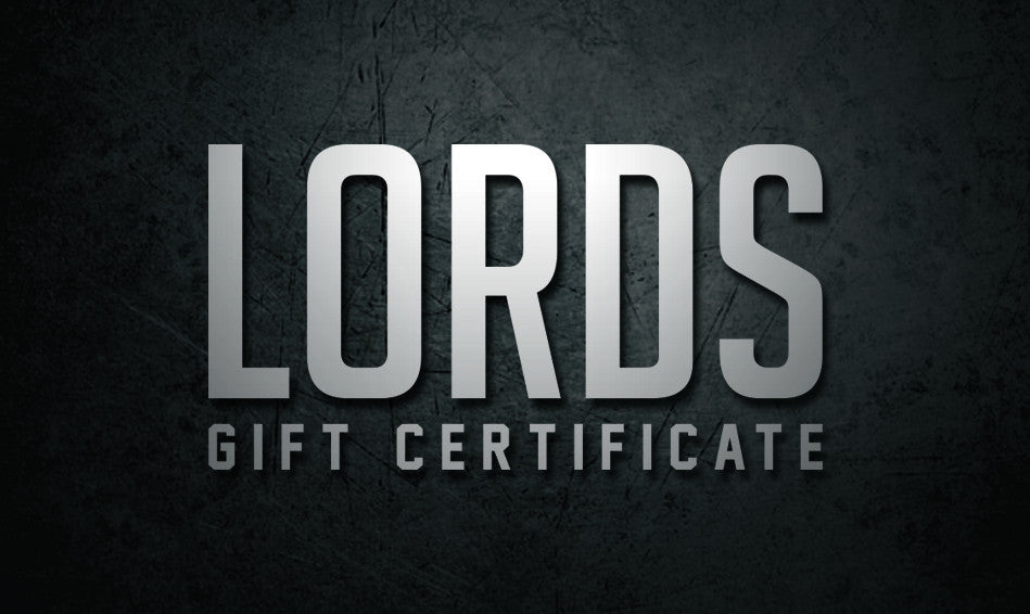 Lords Gift Cards