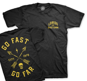 Go Fast Go Far Tee **Limited Stock**