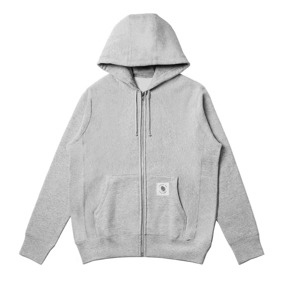 Rogue Heavyweight Zip Up Hoodie - Grey