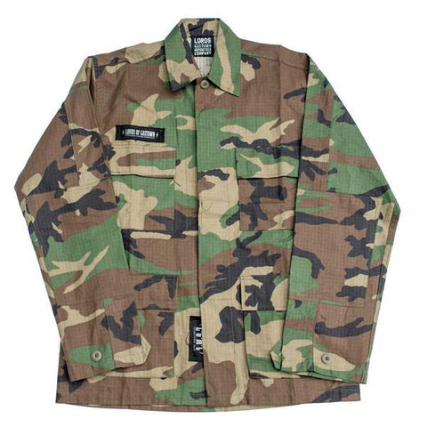Men's Pray 4 Death Vintage BDU Shirt