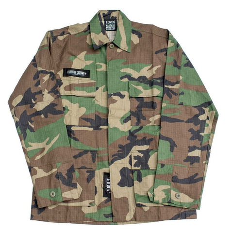 Womens's Vintage BDU Shirt Jacket