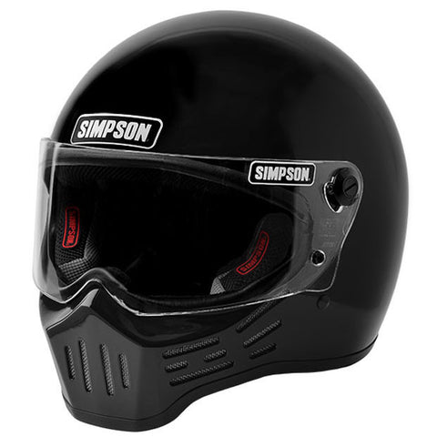Simpson M30 Helmet Gloss Black