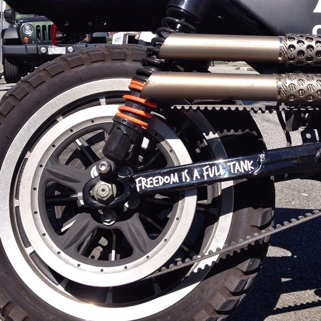 Garage Co Swingarm Decal Pack