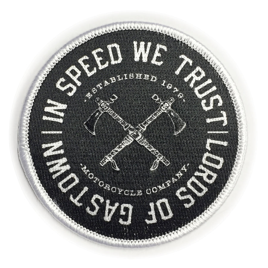 In Speed We Trust Patch
