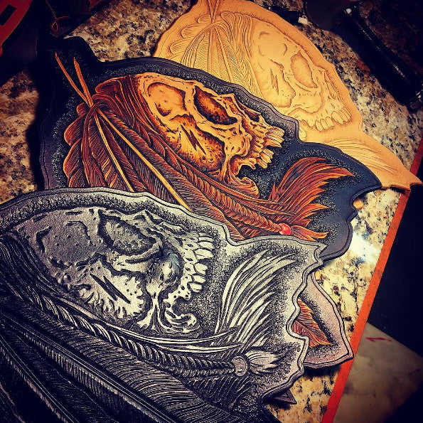Shaman Leather Back Patch