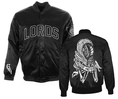 Ride or Die Team Jacket - Black/White