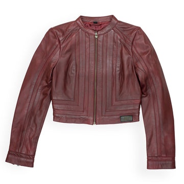 The Jane Fonda Women's Leather Jacket