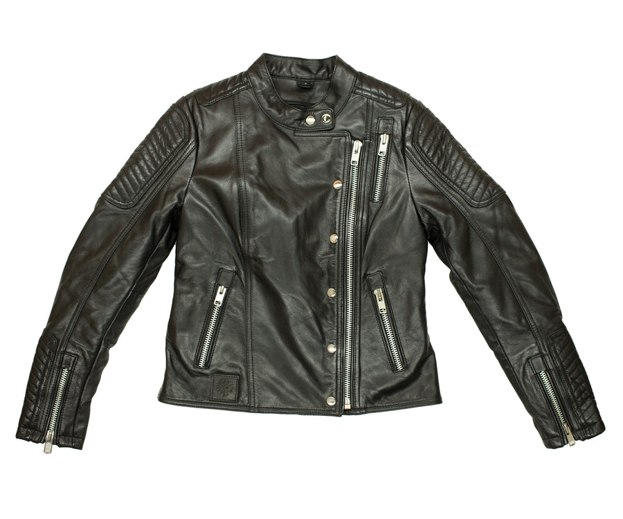 Damnit Janet Women's Leather Jacket