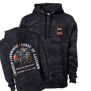 Lords X Crooked Clubhouse Pullover Hoodie **Limited Stock**
