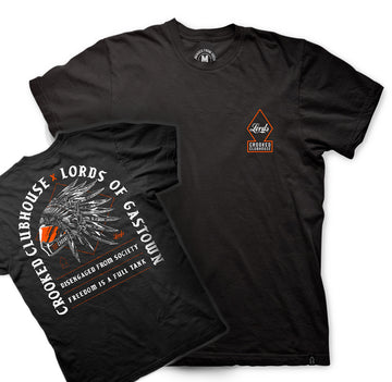Lords X Crooked Clubhouse Tee **Limited Stock**
