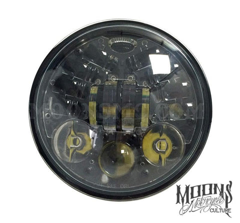Moonmaker 3 LED Headlight - BLACK