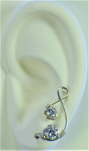 Champagne Series Sterling Silver EarClimberZ