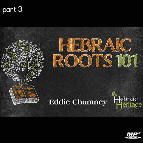 Hebraic Roots 101 Part 3 (Digital Download MP3)