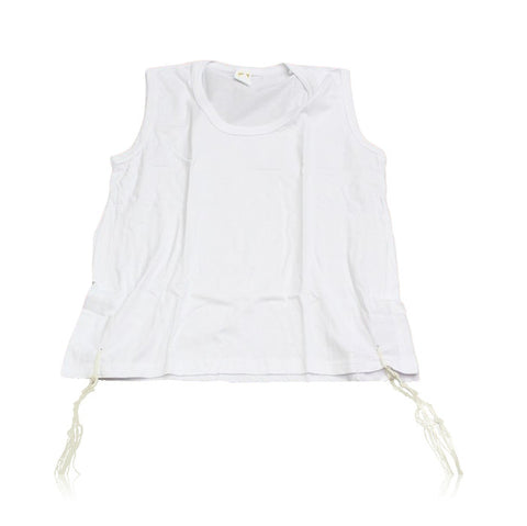 Tallit Katan - Pure Cotton Garment with Machine Spun Tzitzit