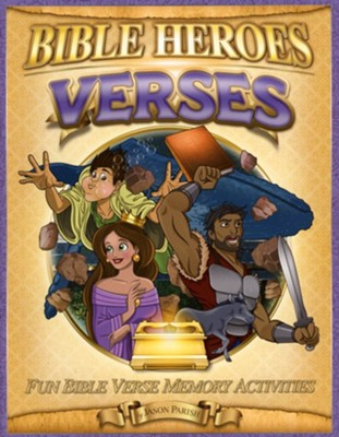 Bible Heroes Activity Book, Verses