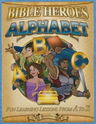 Bible Heroes Activity Book, Alphabet
