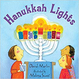 Hanukkah Lights Board Book