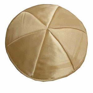 Kippah - Satin Cream, Medium