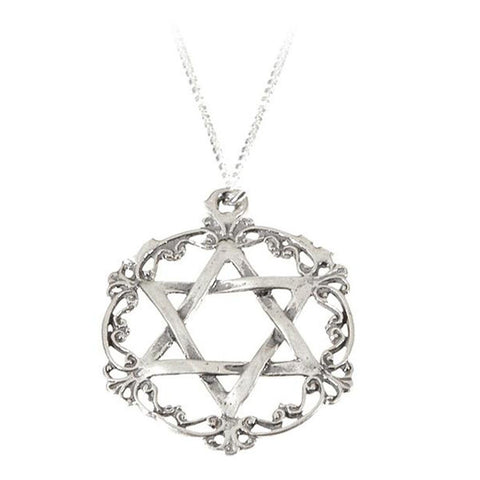 Necklace - Queen Esther Silver Filigree
