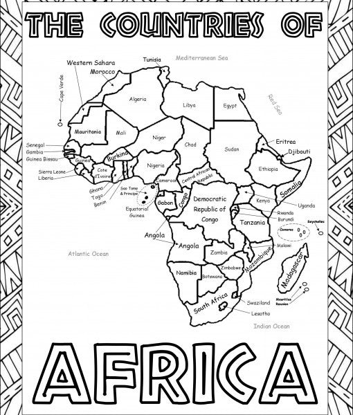 Africa Geography Curriculum & Intercessory Prayer Guide