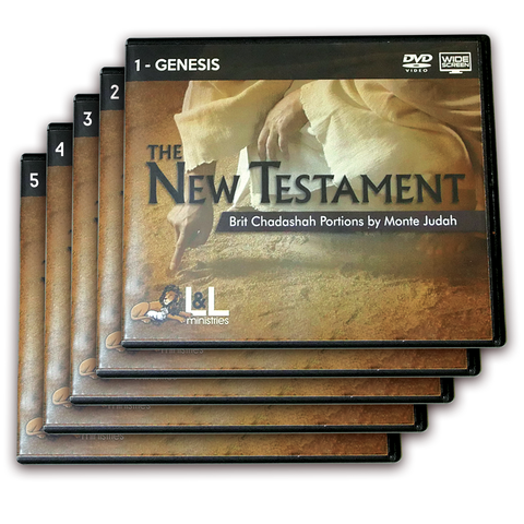 The New Testament: Brit Chadashah Portions - Widescreen-DVD - COMPLETE Set