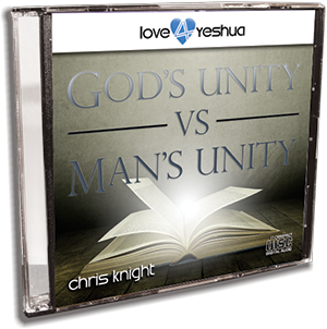 God's Unity vs. Man's Unity - CD