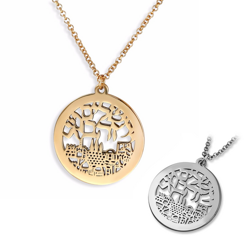 Necklace - Jerusalem City of Gold