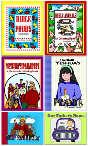 6 Coloring Book Bundle - PDF download