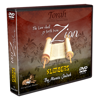 """The Law shall go forth from ZION"" DVD Torah Set - Numbers"