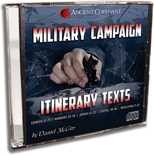 Military Campaign Itinerary Texts - CD