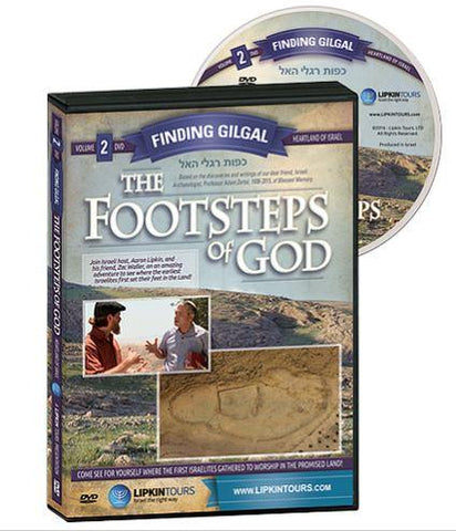 The Footsteps of God: Finding Gilgal DVD