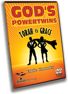 God's Power Twins: Torah and Grace DVD
