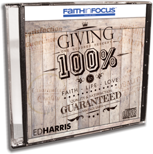 Giving 100% to Faith, Life, & Love