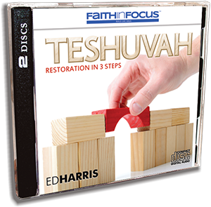 Teshuvah - Restoration in 3 Steps