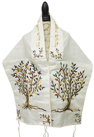Emanuel Tallit - Tree of Life