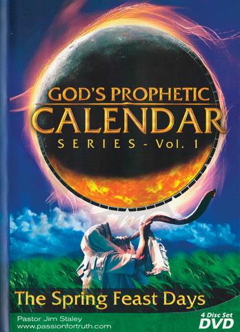 God's Prophetic Calendar Volume 1: Spring Feasts (DVD)