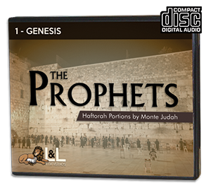 The Prophets: Haftorah Portions - Audio CD - 1 Genesis