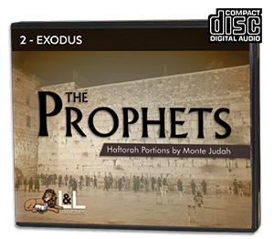 The Prophets: Haftorah Portions - Audio CD - 2 Exodus