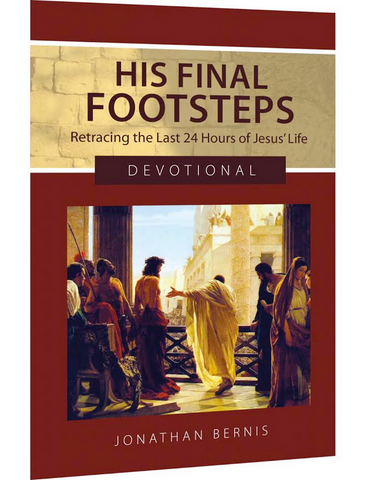 His Final Footsteps: Retracing the Last 24 Hours of Jesus' Life DVD and Devotional Combo