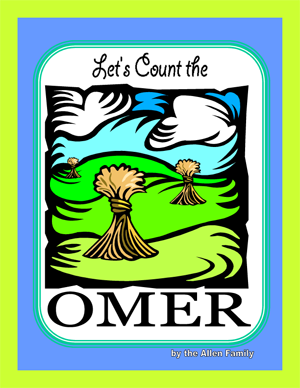 Let's Count the Omer Coloring Book - PDF download
