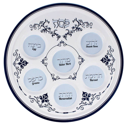 Ceramic Seder Plate - Renaissance Collection