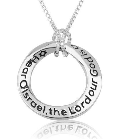 Necklace - Shema Circle Pendent