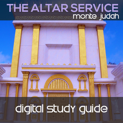 Altar Service Digital Study Guide  (Digital Download PDF)