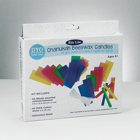 SALE! - Create Your Own Chanukah Beeswax Candles Kit *Limited Quantity*