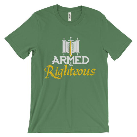 Armed & Righteous Short Sleeve T-Shirt