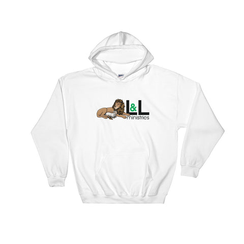 Lion and Lamb Hooded Sweatshirt