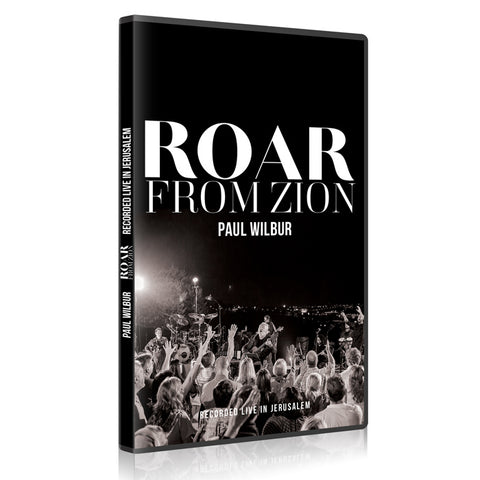Roar From Zion (DVD) by Paul Wilbur