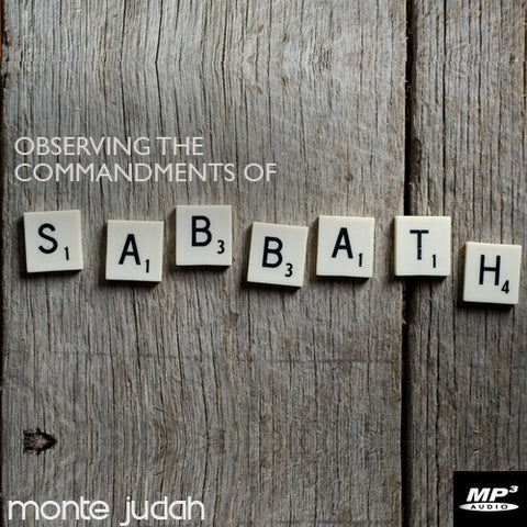 Observing the Commandments of the Sabbath Part 1  (Digital Download MP3)