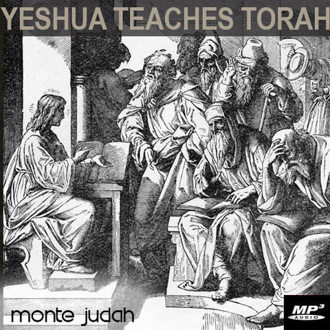 Yeshua Teaches Torah Part 1  (Digital Download MP3)