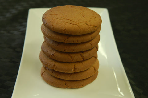 5 Large Ginger Nut Cookies - Large - Quinoa - Gluten Free